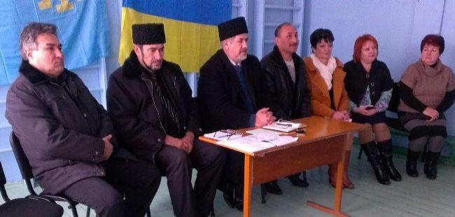 Лидер Меджлиса Чубаров встретился с жителями Генического района