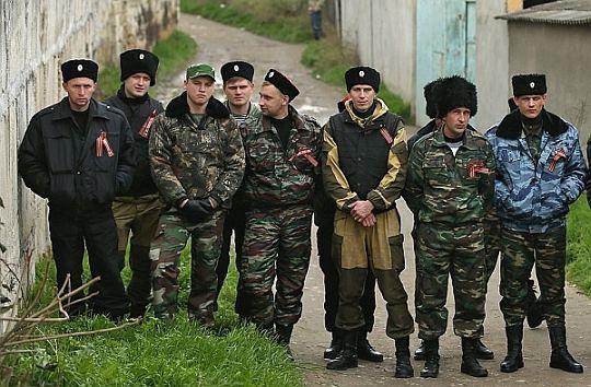 """Крымские """"ополченцы"""" пытаются попасть на территорию Херсонской области"""