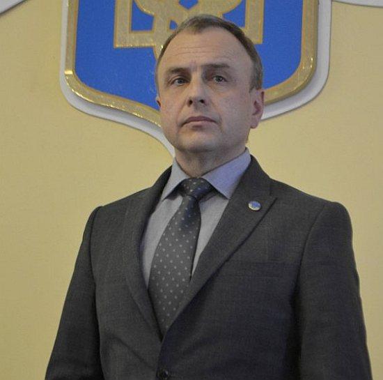 Глава Генической районной государственной администрации Александр Воробьев