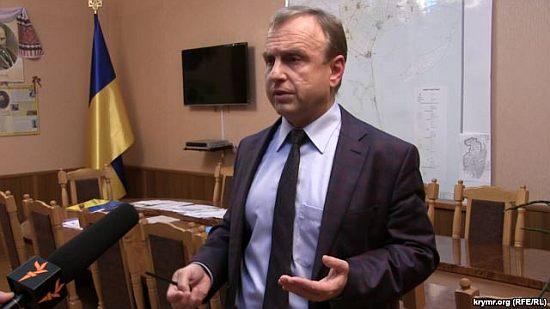 Воробьев считает что газ в Геническе воруют