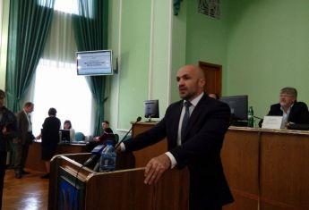 Херсонский облсовет избрал себе нового председателя Владислава Мангера