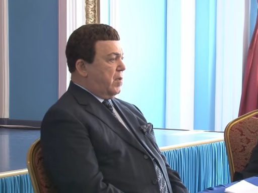 Иосиф Кобзон: «Мы взяли непосильную ношу – Крым»