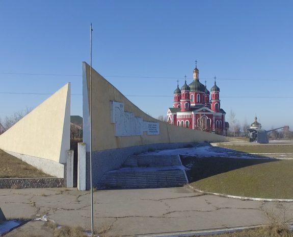 На Арабатской стрелке сняли государственный флаг Украины