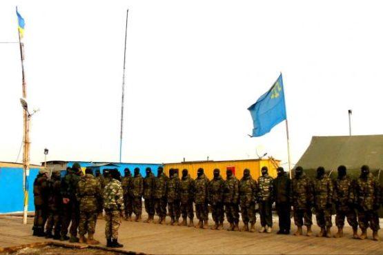 База батальона им. Н. Челебиджихана захвачена