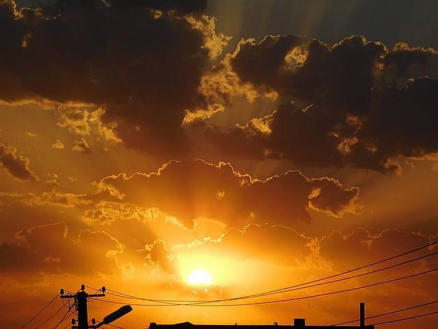 Закат над Геническом