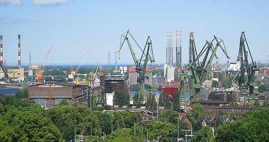 Судоверфь в польском Гданьске - идеальное место для изучения опыта свободных экономических зон