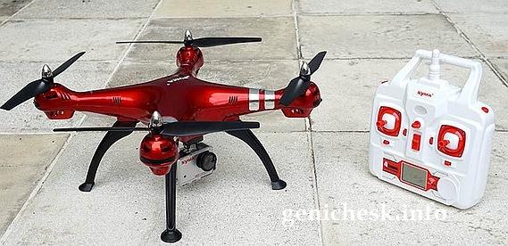 коварным шпионским беспилотником оказался китайский квадрокоптер Syma X8HG