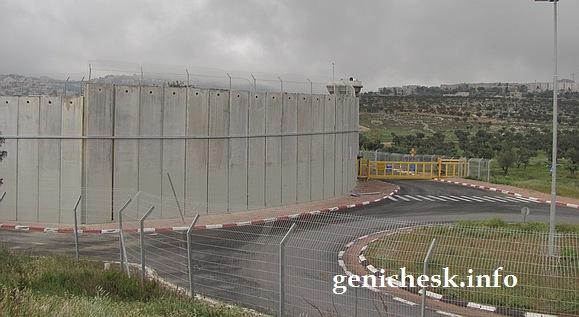 Правильная стена на границе с орками