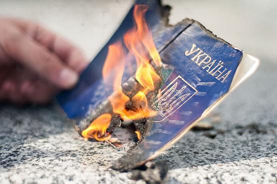 """Генический паспортный стол """"оккупировали"""" крымчане"""