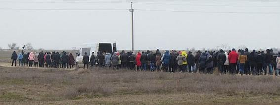 Похоронили Константина Гурулева, вчера, 20 марта, в родном селе Счастливцево на Арабатской стрелке.