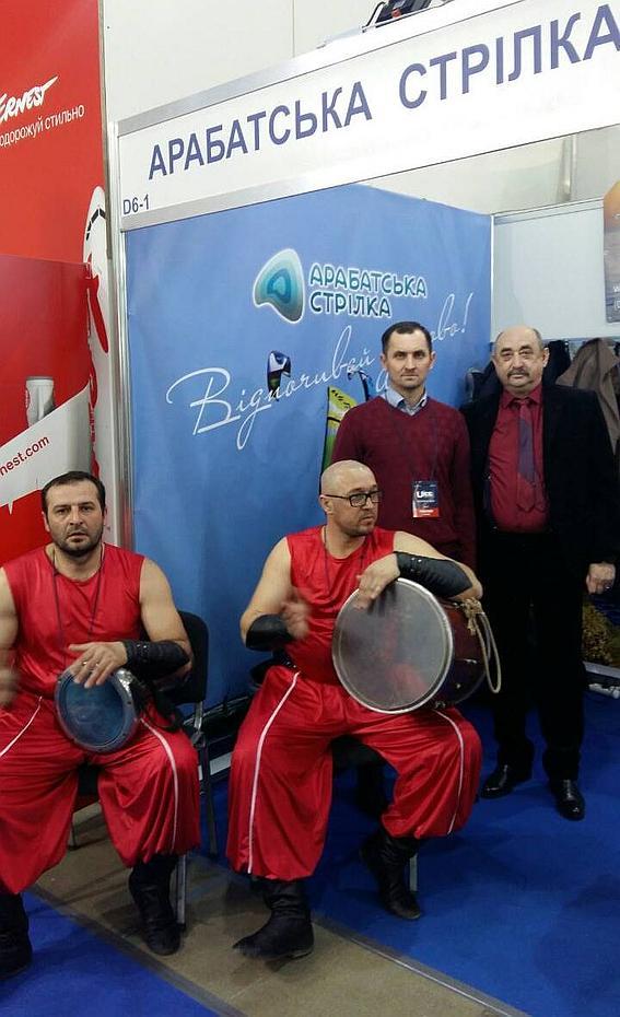 Арабатская стрелка впервые начала рекламу отдыха в Украине