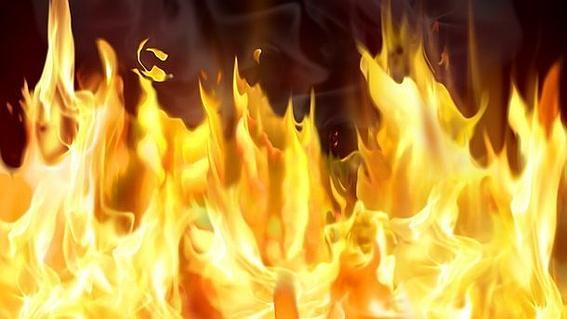 В Кирилловке в огне пожара на базе отдыха погиб человек