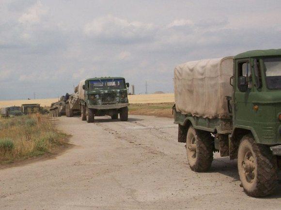 Украинские морпехи захватили аэродром в Геническе