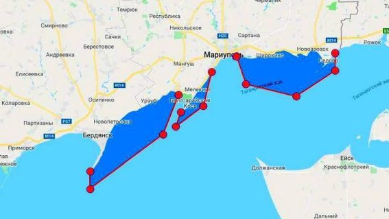 Ответный ход - Украина закрывает часть Азовского моря для военных учений
