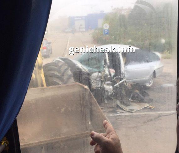 Авария на дорогах Геническа