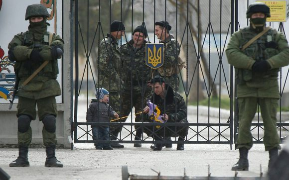 """Крым 2014. Подготовка к """"референдуму"""""""
