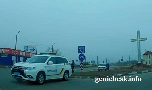 Едва уловимые признаки военного положения в Геническе