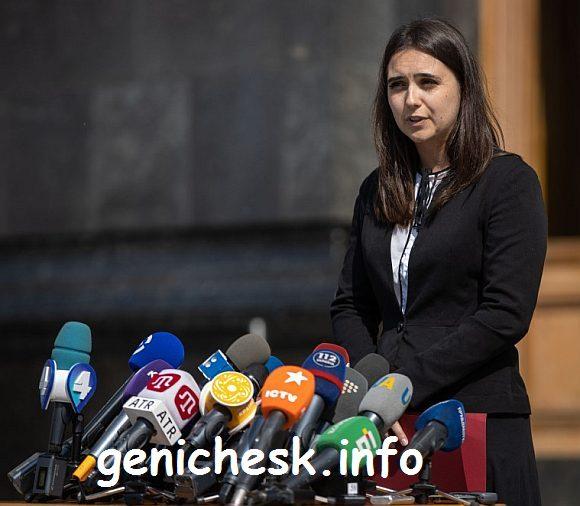 Геничанка Юлия Мендель стала пресс-секретарем Президента Зеленского