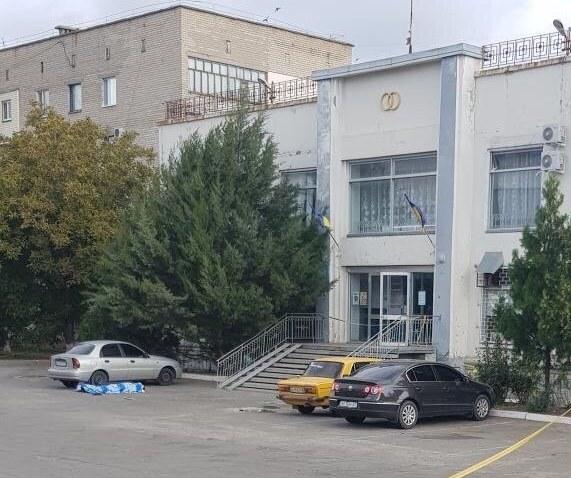Расстрел чиновника в соседней к Геническу Акимовке