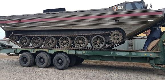 В Кирилловку прибыла техника для эвакуации с Бирючего